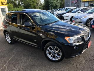 Used 2011 BMW X3 AUTO/ LEATHER/ PANORAMIC SUNROOF/ BACK UP CAM! for sale in Scarborough, ON