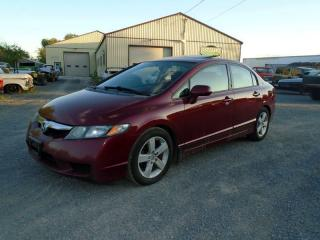 Used 2009 Honda Civic EX Sedan for sale in Yarker, ON