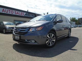 Used 2015 Honda Odyssey 4dr Wgn Touring w/RES NAVIGATION DVD 8 PASSENGER N for sale in Oakville, ON