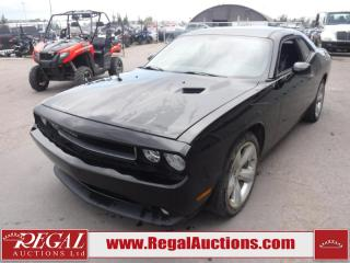 Used 2012 Dodge Challenger SXT 2D Coupe RWD 3.6L for sale in Calgary, AB