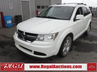 Used 2017 Dodge JOURNEY SE PLUS UTILITY FWD 7 PASS 2.4L for sale in Calgary, AB