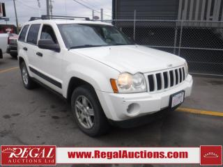 Used 2006 Jeep Grand Cherokee Laredo 4D Utility 4WD for sale in Calgary, AB