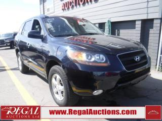 Used 2009 Hyundai Santa Fe GL 4D Utility 3.3L for sale in Calgary, AB