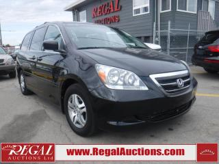 Used 2007 Honda ODYSSEY EX-L 4D VAN 2WD for sale in Calgary, AB