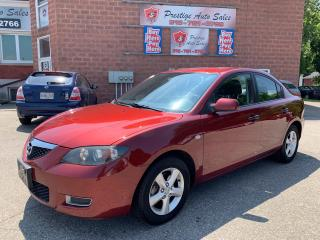 Used 2009 Mazda MAZDA3 SUMMER BLOWOUT SALE/2L/ONE OWNER/NO RUST for sale in Cambridge, ON