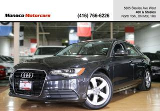 Used 2013 Audi A6 Premium - NAVIGATION|SUNROOF|BACKUPSEN for sale in North York, ON