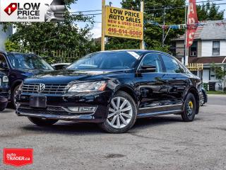 Used 2013 Volkswagen Passat TDi*Highline*Leather*Sunroof*Camera*Auto*FullOpti* for sale in Toronto, ON