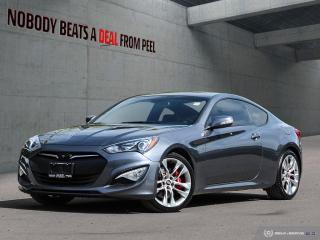 Used 2015 Hyundai Genesis Coupe 3.8 Premium*New Tires*GPS*Leather*Sunroof* for sale in Mississauga, ON