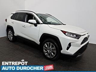 Used 2019 Toyota RAV4 Limited AWD NAVIGATION - Toit Ouvrant - A/C - Cuir for sale in Laval, QC