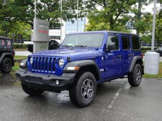 Used 2020 Jeep Wrangler Unlimited Sport S for sale in Richmond, BC