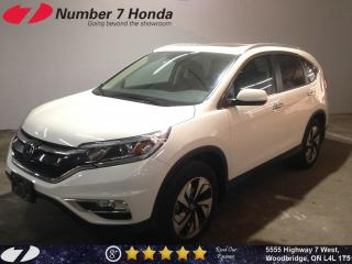 Used 2016 Honda CR-V Touring| Loaded| Leather| Navi| for sale in Woodbridge, ON