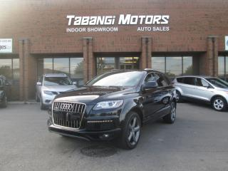 Used 2015 Audi Q7 TDI | VORSPRUNG | NO ACCIDENTS | NAVIGATION | LEATHER | BT for sale in Mississauga, ON