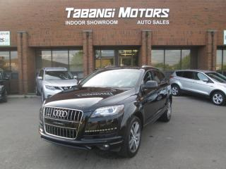 Used 2015 Audi Q7 TDI | PROGRESSIVE | NO ACCIDENTS | NAVIGATION | LEATHER | BT for sale in Mississauga, ON