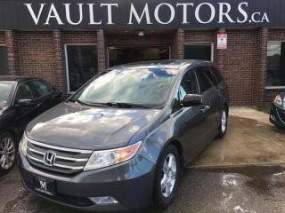 Used 2012 Honda Odyssey Touring w/RES & Navi 8 PASSENGER NO ACCIDENTS for sale in Brampton, ON