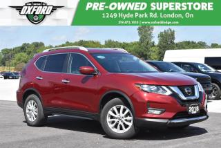 Used 2018 Nissan Rogue SV - AWD, Roof Rack, Bluetooth, Backup for sale in London, ON