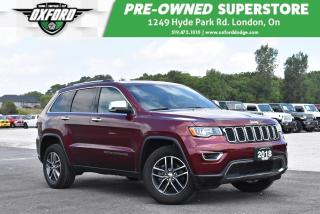 Used 2018 Jeep Grand Cherokee Limited - Roof Rack, GPS, Backup for sale in London, ON