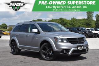 Used 2018 Dodge Journey Crossroad - Fully Loaded, AWD, Roof Rack for sale in London, ON