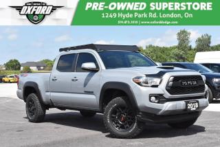 Used 2018 Toyota Tacoma SR5 V6 - Low Kms, Roof Rack, Trailer Hitch for sale in London, ON