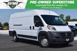 Used 2018 RAM 3500 ProMaster High Roof - Former Rental, 3.6L V6 for sale in London, ON