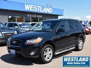 Used 2010 Hyundai Santa Fe Limited AWD for sale in Pembroke, ON