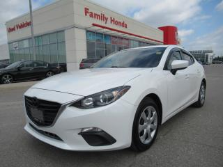 Used 2016 Mazda MAZDA3 GX, BACK UP CAM, PUSH TO START! for sale in Brampton, ON