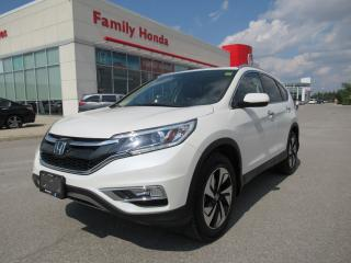 Used 2016 Honda CR-V Touring, NAVIGATION, FREE WARRANTY for sale in Brampton, ON
