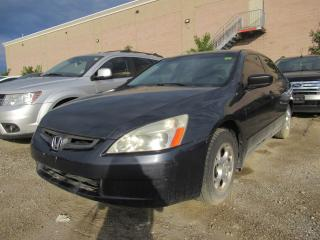 Used 2005 Honda Accord DX, FREE MATS for sale in Brampton, ON
