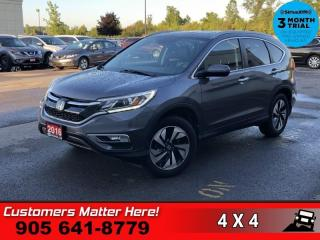 Used 2016 Honda CR-V Touring for sale in St. Catharines, ON