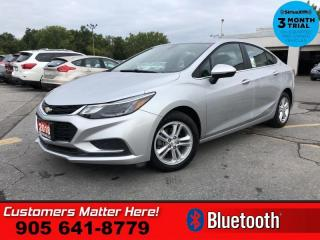 Used 2018 Chevrolet Cruze LT  B/U-CAM BT ALLOYS HTD-STS for sale in St. Catharines, ON