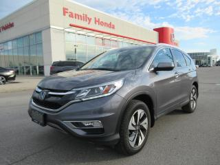 Used 2016 Honda CR-V Touring, NAVIGATION, REVERSE CAMERA for sale in Brampton, ON