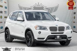 Used 2013 BMW X3 28i, AWD, NO ACCIDENT, NAVI, REAR CAM, PANO ROOF for sale in Toronto, ON