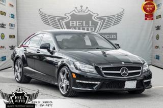 Used 2013 Mercedes-Benz CLS-Class CLS 63 AMG, V8, BI-TURBO, 5.5L, NAVI, BACK-UP CAM for sale in Toronto, ON