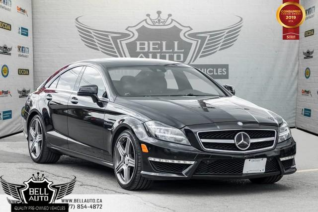 2013 Mercedes-Benz CLS-Class CLS 63 AMG, V8, BI-TURBO, 5.5L, NAVI, BACK-UP CAM