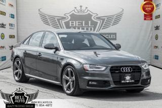 Used 2014 Audi A4 Technik, NO ACCIDENT, NAVI, BACK-UP CAM, SUNROOF for sale in Toronto, ON