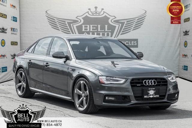 2014 Audi A4 Technik, NO ACCIDENT, NAVI, BACK-UP CAM, SUNROOF