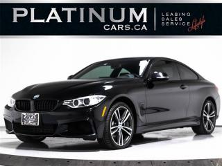Used 2015 BMW 4 Series 435i XDRIVE AWD, M-SPORT, NAVI, CAM, RED LEATHER for sale in Toronto, ON