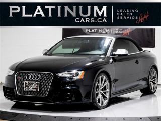 Used 2014 Audi RS 5 4.2 quattro, 450HP, CONVERTIBLE, NAVI, CAM, HEATED for sale in Toronto, ON