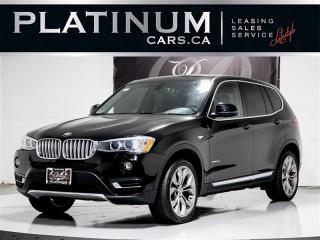 Used 2016 BMW X3 xDRIVE DIESEL, NAVI, CAM, Pano ROOF, Premium PKG, for sale in Toronto, ON