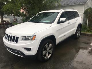 Used 2016 Jeep Grand Cherokee 4 RM, 4 portes, Limited for sale in Ste-Marie, QC