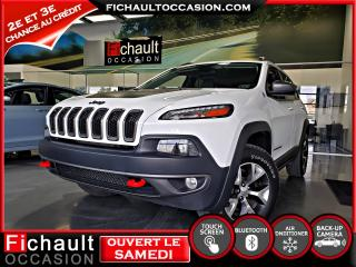 Used 2017 Jeep Cherokee TRAILHAWKS 4X4 for sale in Châteauguay, QC