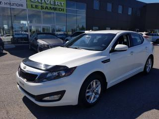 Used 2013 Kia Optima Man, LX, mags, bluetooth, a/c, siege chauffant for sale in Chambly, QC