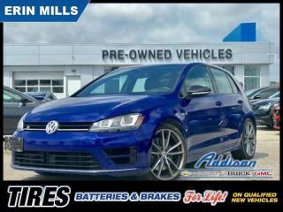 Used 2017 Volkswagen Golf R 2.0 TSI Navi|Fender Sound|Adaptive Cruise| for sale in Mississauga, ON