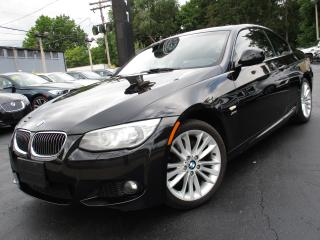 Used 2013 BMW 3 Series 328I XDRIVE|M-SPORT PKG|6 SPEED|COUPE| RED INT !!! for sale in Burlington, ON