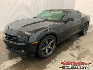 Used 2010 Chevrolet Camaro 2LT Mags Cuir Toit ouvrant Bluetooth for sale in Shawinigan, QC