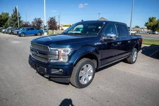 Used 2019 Ford F-150 Platinum SYNC 3, Apple and Android connectivity, voice activated navigation system, voice activated dual zone for sale in Okotoks, AB