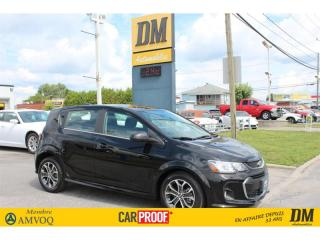 Used 2017 Chevrolet Sonic LT/RS   TURBO   TOIT  CAMÉRA   DÉMARREUR for sale in Salaberry-de-Valleyfield, QC