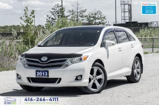 Used 2013 Toyota Venza V6 AWD LEATHER/SUNROOF RCAM CERTIFIED WE FINANCE for sale in Bolton, ON