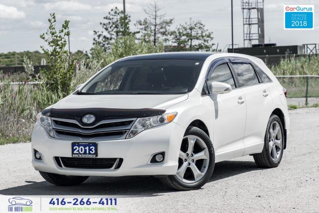 2013 Toyota Venza V6 AWD LEATHER/SUNROOF RCAM CERTIFIED WE FINANCE