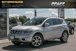 Used 2014 Nissan Murano Platinum AWD CVT for sale in Orangeville, ON