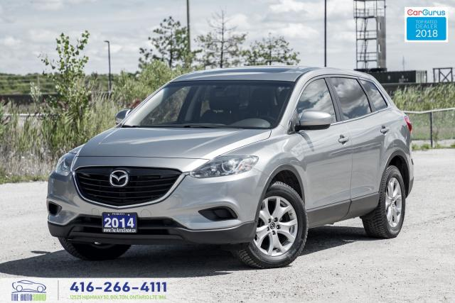 2014 Mazda CX-9 AWD LEATHER*ROOF*R-CAM SERVICE CERTIFIED FINANCING